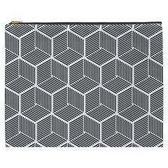 Cube Pattern Cube Seamless Repeat Cosmetic Bag (xxxl)  by Nexatart