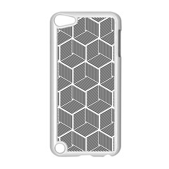 Cube Pattern Cube Seamless Repeat Apple Ipod Touch 5 Case (white) by Nexatart