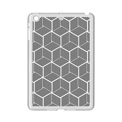 Cube Pattern Cube Seamless Repeat Ipad Mini 2 Enamel Coated Cases by Nexatart