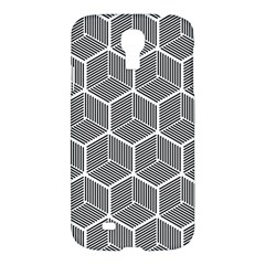 Cube Pattern Cube Seamless Repeat Samsung Galaxy S4 I9500/i9505 Hardshell Case