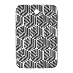 Cube Pattern Cube Seamless Repeat Samsung Galaxy Note 8 0 N5100 Hardshell Case  by Nexatart