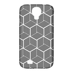Cube Pattern Cube Seamless Repeat Samsung Galaxy S4 Classic Hardshell Case (pc+silicone)