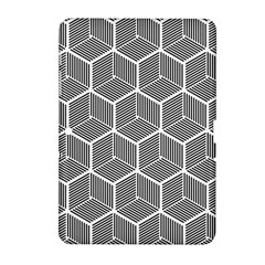 Cube Pattern Cube Seamless Repeat Samsung Galaxy Tab 2 (10 1 ) P5100 Hardshell Case  by Nexatart