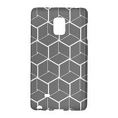 Cube Pattern Cube Seamless Repeat Galaxy Note Edge