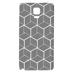 Cube Pattern Cube Seamless Repeat Galaxy Note 4 Back Case