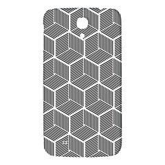 Cube Pattern Cube Seamless Repeat Samsung Galaxy Mega I9200 Hardshell Back Case