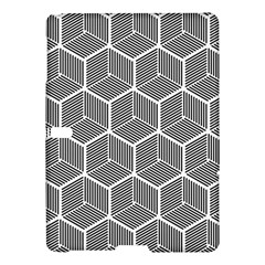 Cube Pattern Cube Seamless Repeat Samsung Galaxy Tab S (10 5 ) Hardshell Case  by Nexatart