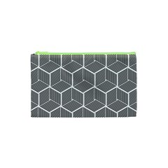 Cube Pattern Cube Seamless Repeat Cosmetic Bag (xs) by Nexatart
