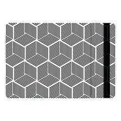 Cube Pattern Cube Seamless Repeat Apple Ipad Pro 10 5   Flip Case