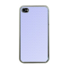 Zigzag Chevron Thin Pattern Apple Iphone 4 Case (clear)