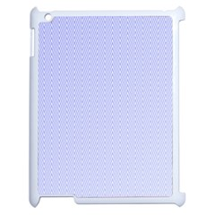 Zigzag Chevron Thin Pattern Apple Ipad 2 Case (white)
