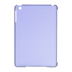 Zigzag Chevron Thin Pattern Apple Ipad Mini Hardshell Case (compatible With Smart Cover) by Nexatart