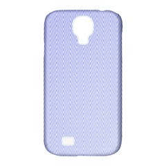 Zigzag Chevron Thin Pattern Samsung Galaxy S4 Classic Hardshell Case (pc+silicone)