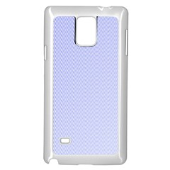 Zigzag Chevron Thin Pattern Samsung Galaxy Note 4 Case (white)