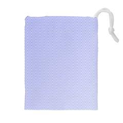 Zigzag Chevron Thin Pattern Drawstring Pouches (extra Large)