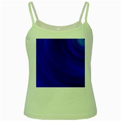 Blue Background Abstract Blue Green Spaghetti Tank