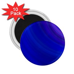 Blue Background Abstract Blue 2 25  Magnets (10 Pack)