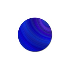 Blue Background Abstract Blue Golf Ball Marker (10 Pack)