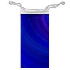 Blue Background Abstract Blue Jewelry Bag