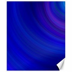 Blue Background Abstract Blue Canvas 8  X 10