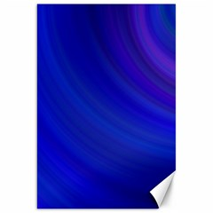 Blue Background Abstract Blue Canvas 20  X 30
