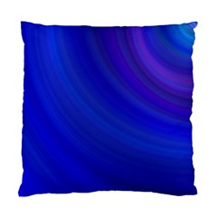 Blue Background Abstract Blue Standard Cushion Case (one Side)
