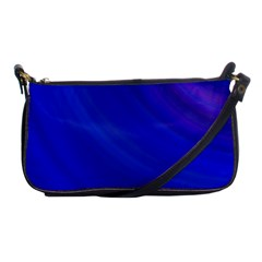 Blue Background Abstract Blue Shoulder Clutch Bags