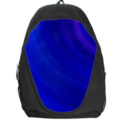 Blue Background Abstract Blue Backpack Bag