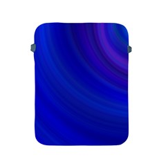Blue Background Abstract Blue Apple Ipad 2/3/4 Protective Soft Cases