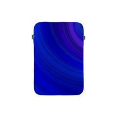Blue Background Abstract Blue Apple Ipad Mini Protective Soft Cases by Nexatart