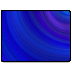 Blue Background Abstract Blue Double Sided Fleece Blanket (large)  by Nexatart