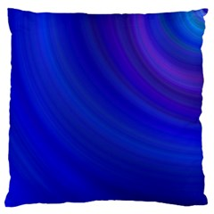 Blue Background Abstract Blue Standard Flano Cushion Case (one Side)