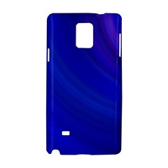 Blue Background Abstract Blue Samsung Galaxy Note 4 Hardshell Case