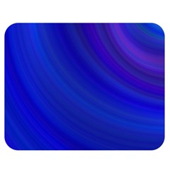 Blue Background Abstract Blue Double Sided Flano Blanket (medium)  by Nexatart