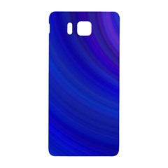 Blue Background Abstract Blue Samsung Galaxy Alpha Hardshell Back Case