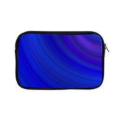 Blue Background Abstract Blue Apple Macbook Pro 13  Zipper Case by Nexatart