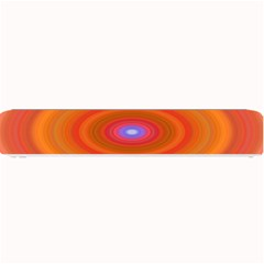 Ellipse Background Orange Oval Small Bar Mats by Nexatart