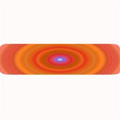 Ellipse Background Orange Oval Large Bar Mats