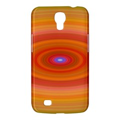 Ellipse Background Orange Oval Samsung Galaxy Mega 6 3  I9200 Hardshell Case by Nexatart