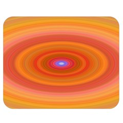 Ellipse Background Orange Oval Double Sided Flano Blanket (medium)  by Nexatart