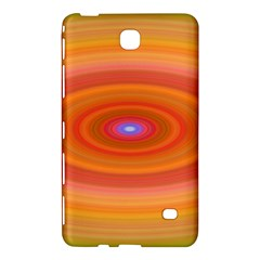Ellipse Background Orange Oval Samsung Galaxy Tab 4 (7 ) Hardshell Case