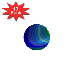 Space Design Abstract Sky Storm 1  Mini Buttons (10 Pack)