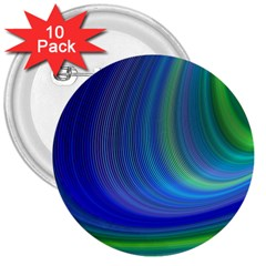 Space Design Abstract Sky Storm 3  Buttons (10 Pack)  by Nexatart