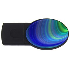 Space Design Abstract Sky Storm Usb Flash Drive Oval (4 Gb)
