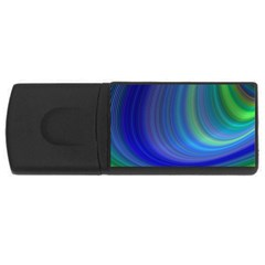 Space Design Abstract Sky Storm Rectangular Usb Flash Drive by Nexatart