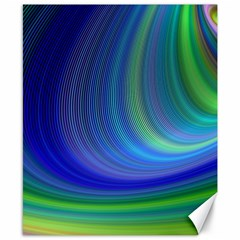 Space Design Abstract Sky Storm Canvas 8  X 10