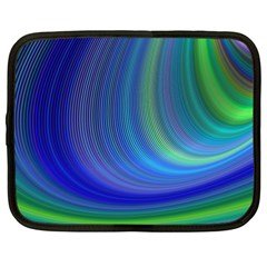 Space Design Abstract Sky Storm Netbook Case (large)