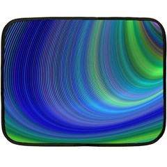 Space Design Abstract Sky Storm Fleece Blanket (mini)