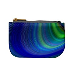 Space Design Abstract Sky Storm Mini Coin Purses