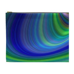 Space Design Abstract Sky Storm Cosmetic Bag (xl)